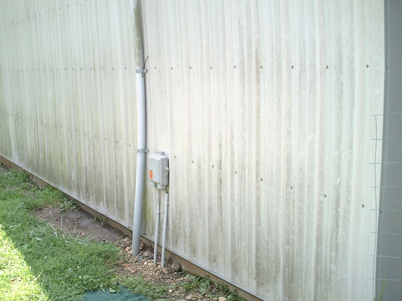 The other day we were asked can you clean metal buildings too?