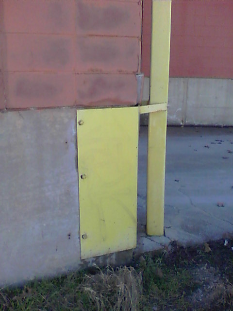 Graffiti removal from painted surfaces.