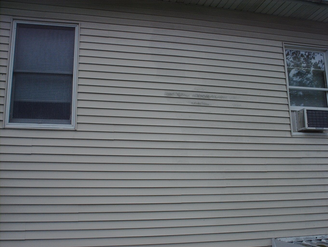 Picture of what we see from our work platform.