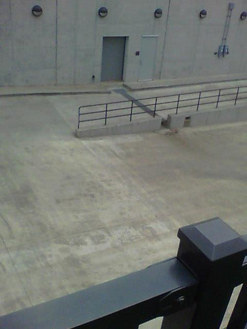 Loading dock cleaning