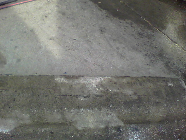 Dumpster areas