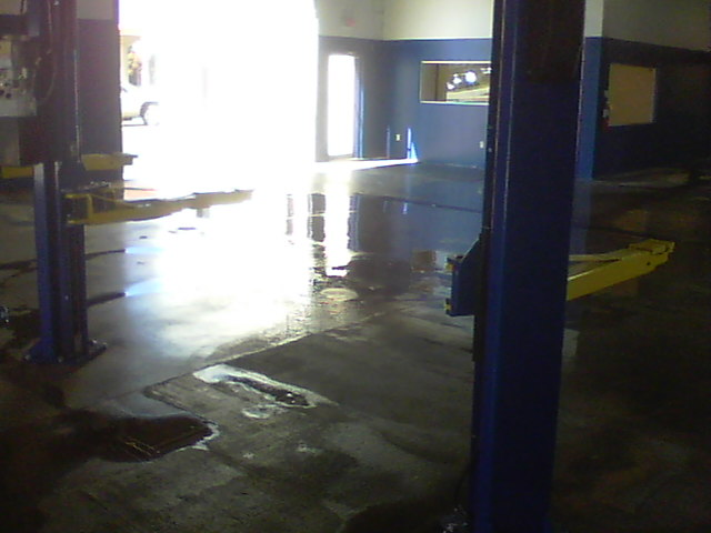 Shop cleaning